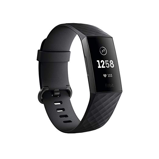 Fitbit Charge 3 angle view